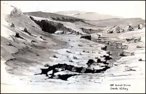 Artist Drive Death Valley