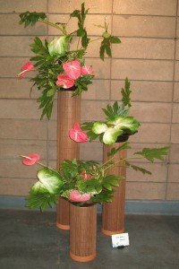Ikebana International San Francisco Chapter flower show 2007