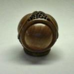 Tetrahedron/Sphere in Teak