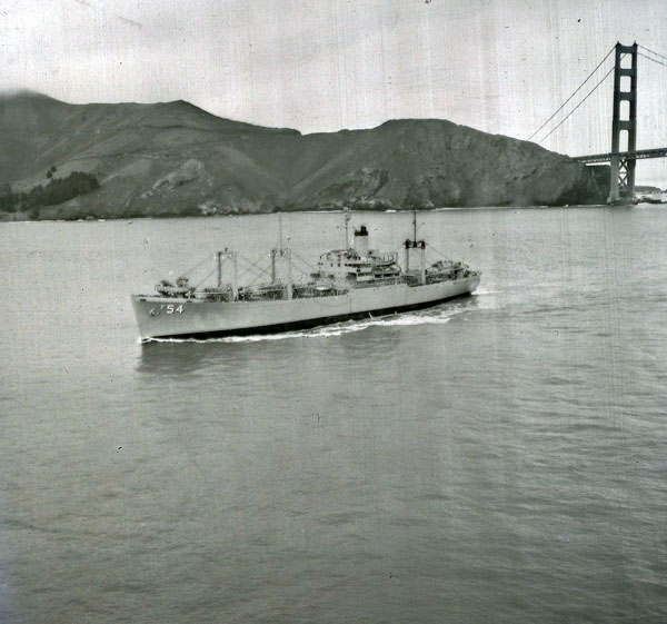 The PICTOR leaving SF Bay