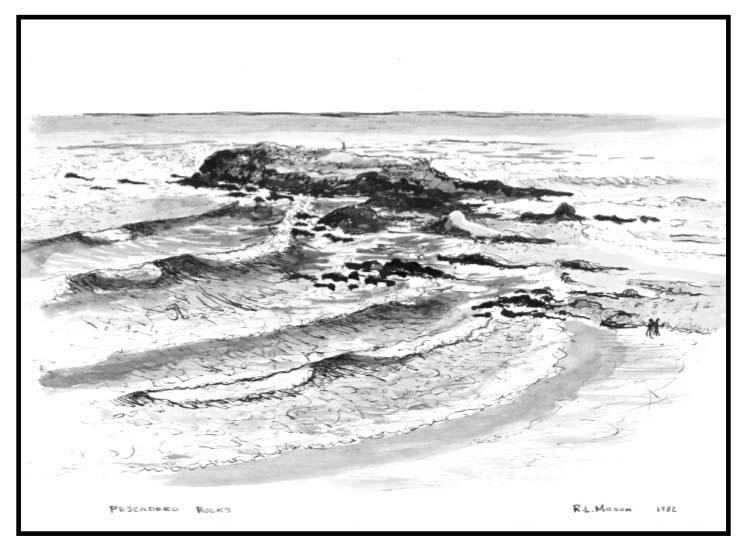 Pescadero Rocks 1982