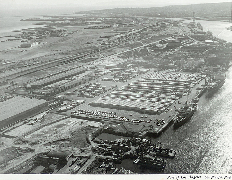 Matson's Newly Completed Container Terminal at the Port of Los Angeles