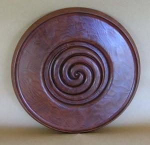 Double Spiral Platter