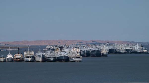 Reserve Fleet at Suisun Bay