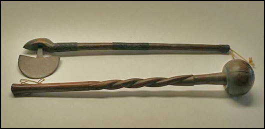 Cerimonial Weapons (Zulu?): Souveniers of family life and times in South Africa