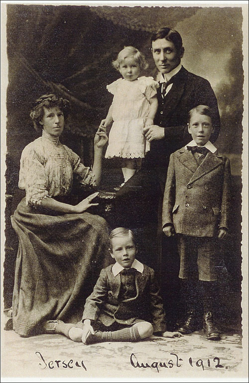 William George Kidd family portrait