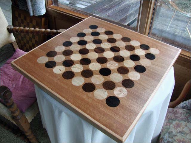 Chess Board with Circle/Squares