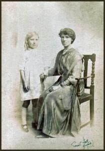 Jo and MPK at Portland,Ore. circa 1922