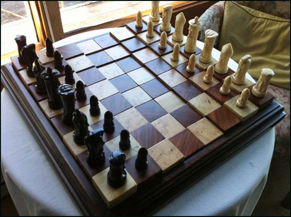 Multilevel Chess Board